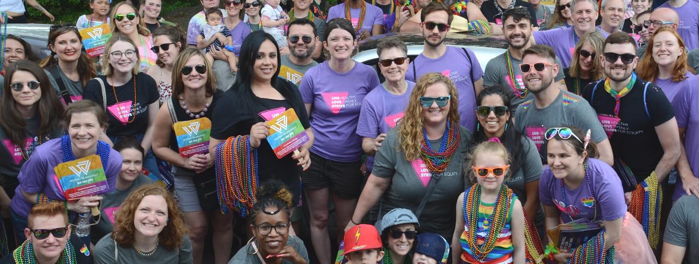 Team Whitman-Walker på Pride 2019